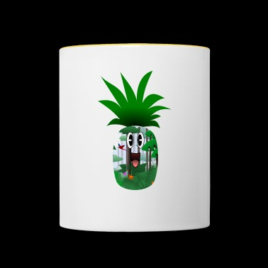 Annanas (Collection Travel) - Contrasting Mug