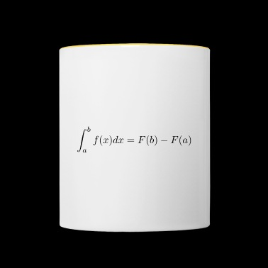 Main theorem of differential and integral calculus - Contrasting Mug
