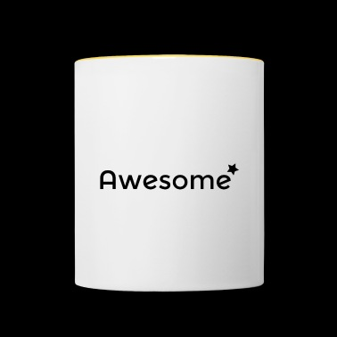 Awesome - Mug contrasté