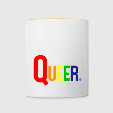 QUEER - Contrasting Mug