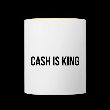 Cash is King - Mok tweekleurig