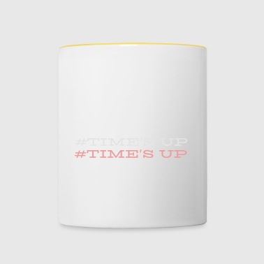 Up # Temps - Mug contrasté