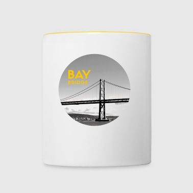 Bay Bridge - Kaksivärinen muki