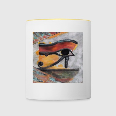 Eye of Ra - Tasse bicolore