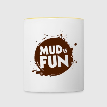 Mud is fun - Contrasting Mug