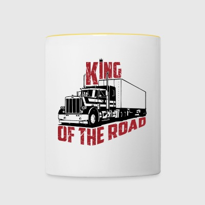 King Of The Road - Tasse bicolore