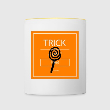 trick or treat - Tasse bicolore