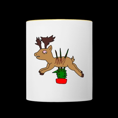 Spicy stag - Contrasting Mug
