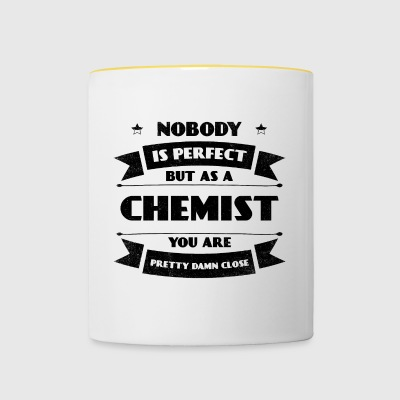 Perfect Chemist Science Chemistry Profession - Contrasting Mug