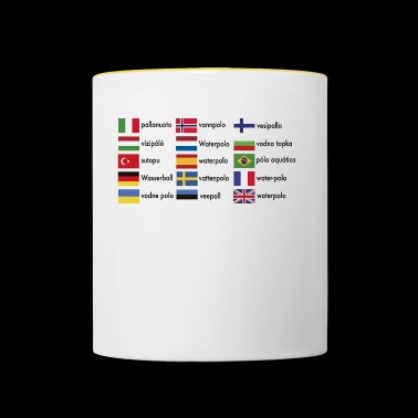internationale 2541614 15571293 waterpolo - Mug contrasté