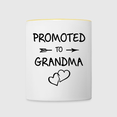 Grandma, grandchildren, pregnancy, baby, offspring - Contrasting Mug