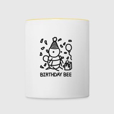 Birthday Bee - Mok tweekleurig