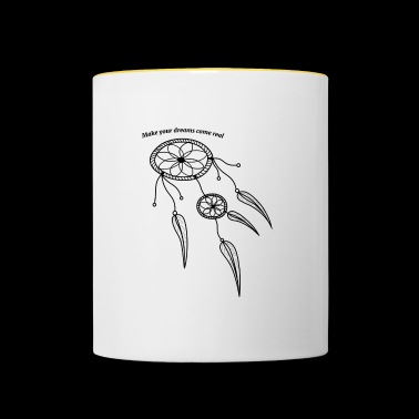 The dreams catcher - Contrasting Mug