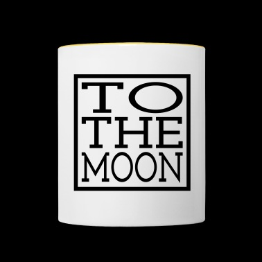 TO THE MOON - Contrasting Mug