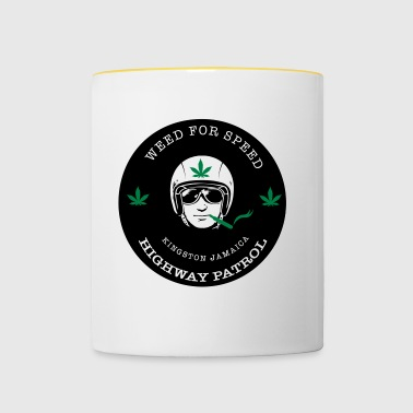 Weed for Speed - Tasse bicolore
