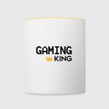 Gaming King - Kaksivärinen muki