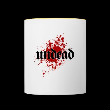 Undead Undead - Contrasting Mug