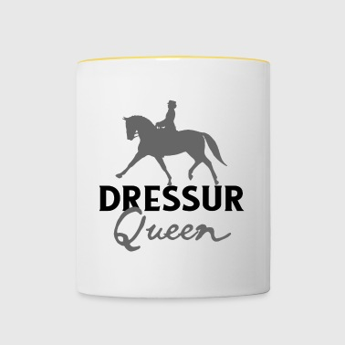 Dressuur Koningin - Riding Dressuur Pony Tournament - Mok tweekleurig