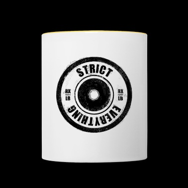 STRICT EVERYTHING - Tasse zweifarbig