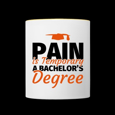 Bachelor degree Bachelor degree gift - Contrasting Mug