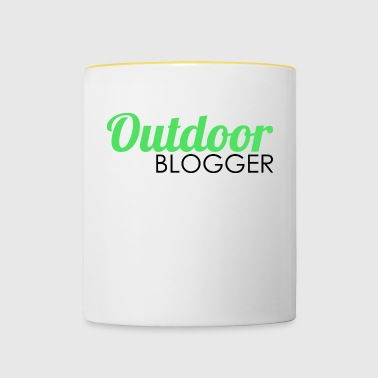 Outdoor blogger - Contrasting Mug