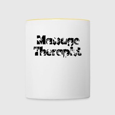 massage Therapeut - Mok tweekleurig