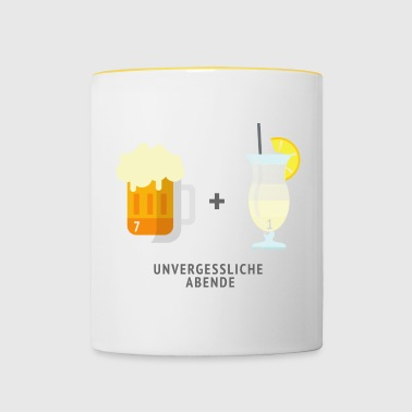 Unforgettable evenings - Contrasting Mug