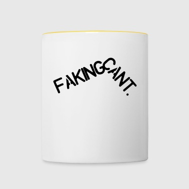 Faking cants - Tasse bicolore