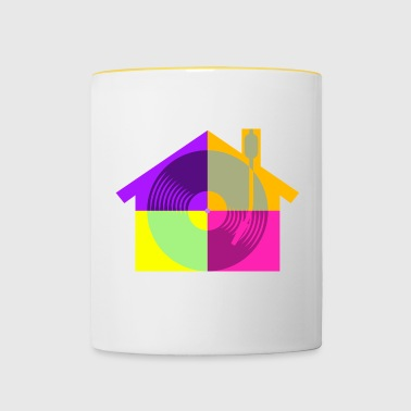 House Music - Mug contrasté