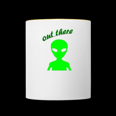 OUT THERE - Contrasting Mug