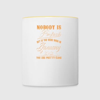 If You Born In January 2012 - Contrasting Mug