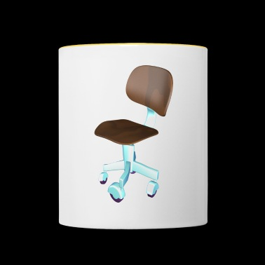 Office chair for office stallion - Contrasting Mug