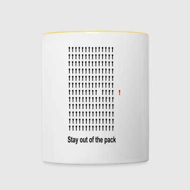 out of tha pack - Contrasting Mug