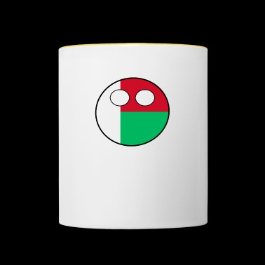 Countryball Country Home Madagascar - Contrasting Mug