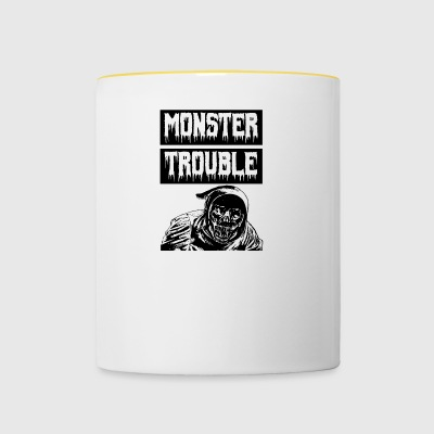 Monster Trouble - Tofarvet krus
