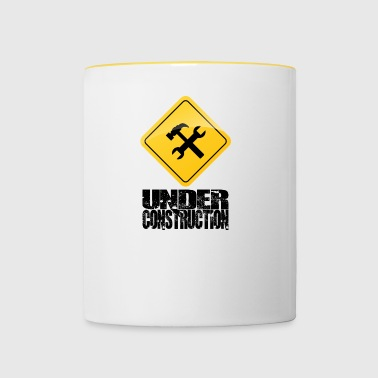 Under Construction - Mug contrasté
