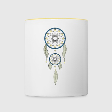 dream catcher - Contrasting Mug