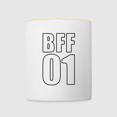 BFF Shirt - Best Friend - Best Friend - Besti - Mok tweekleurig