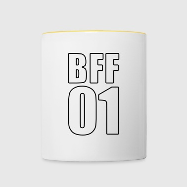 BFF Shirt - Best Friend - Best Friend - Besti - Tofarvet krus