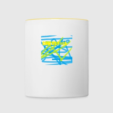 COOL AS Fck - Contrasting Mug