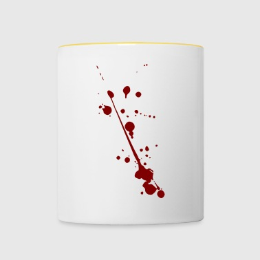 Blood splatter - Contrasting Mug