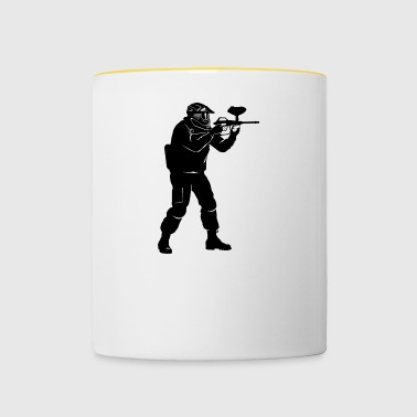 Paintball - Mug contrasté