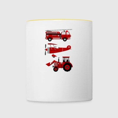 vehicles - Contrasting Mug