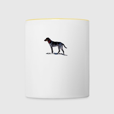 These paws white - Contrasting Mug