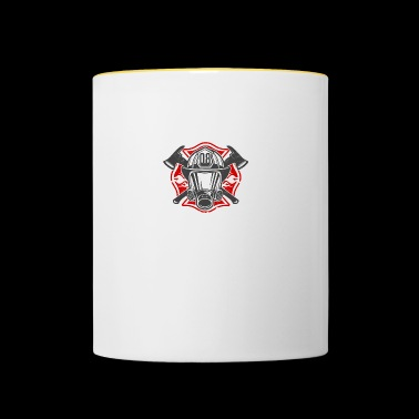 Firefighter - Feel the heat - Contrasting Mug