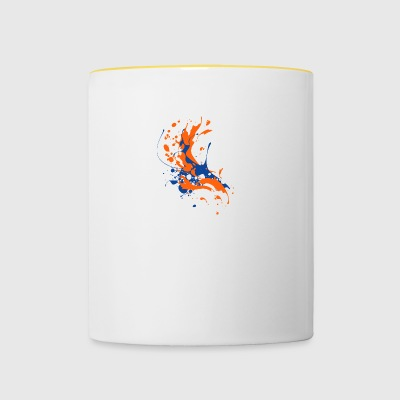 Awesome Art Design - Contrasting Mug