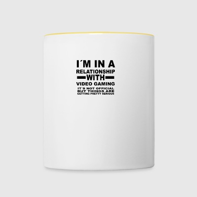 Relationship with VIDEO GAMING - Contrasting Mug
