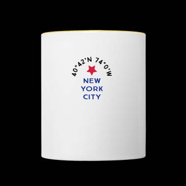 New York City - Tasse zweifarbig