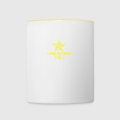 A star was born - Contrasting Mug