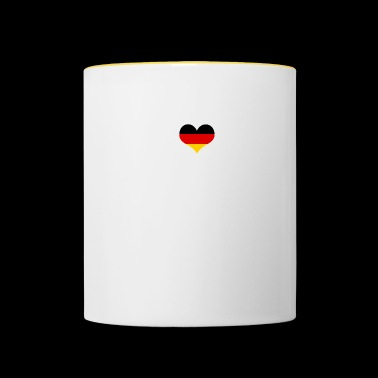 I Love Germany SIEGEN - Tasse zweifarbig